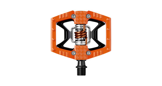 Crankbrothers Double Shot Pedal orange/svart